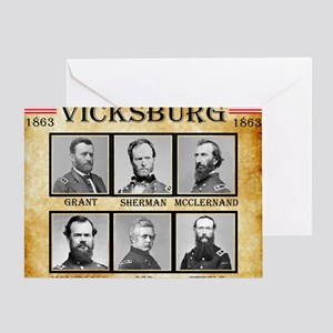 Vicksburg - Union Greeting Card